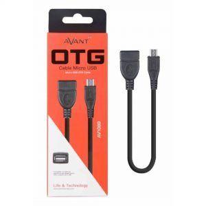 Cable OTG de USB hembra a micro USB macho