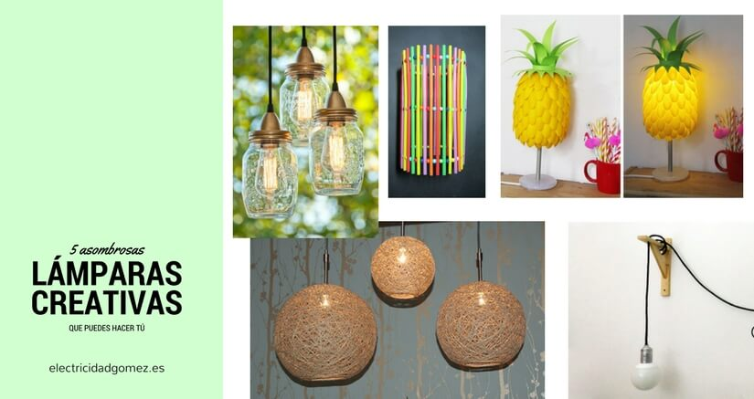 5 asombrosas lámparas