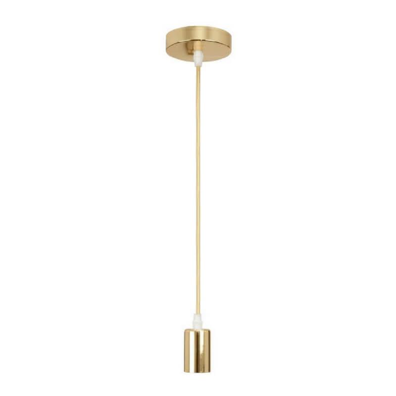 armazón colgante metalizado color oro