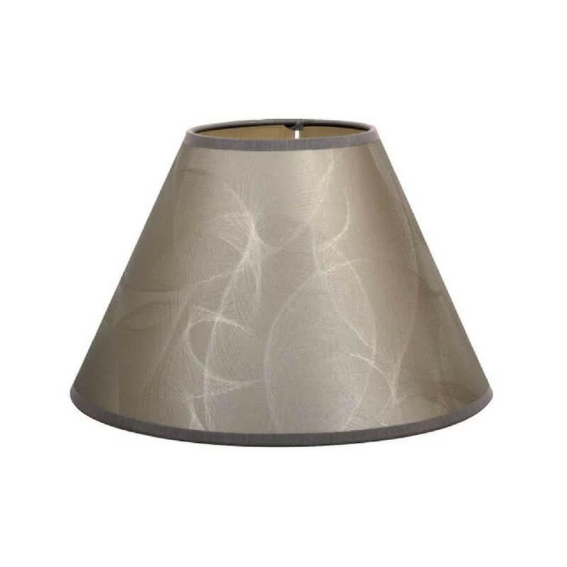 Pantalla de lámpara de mesa forma cónica estampado brillo