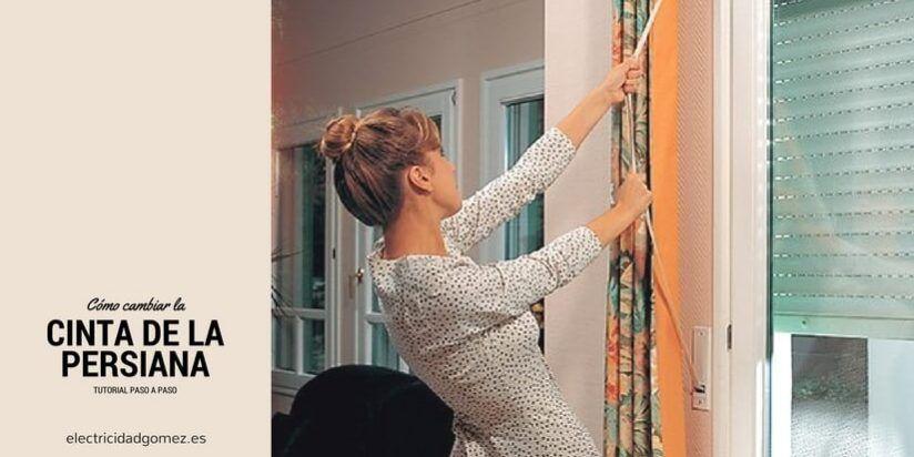 Cambiar la cinta de la persiana no es un rollo - Cambiar cinta de persiana ...
