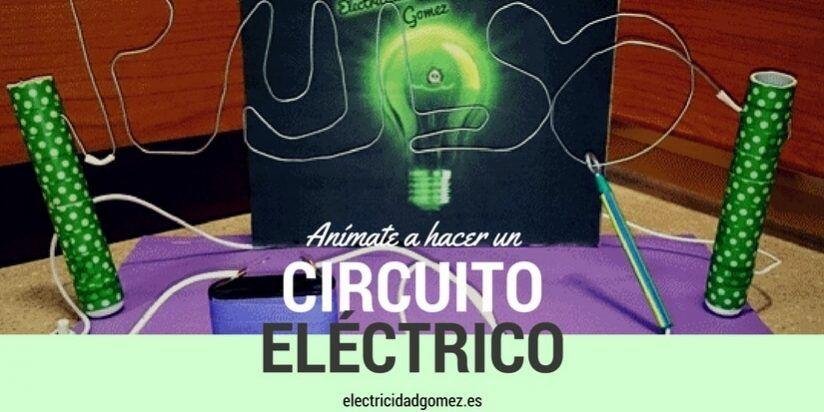 Circuito Electrico Simple De Una Casa : Pon a prueba tu pulso con este circuito eléctrico. electricidad gómez