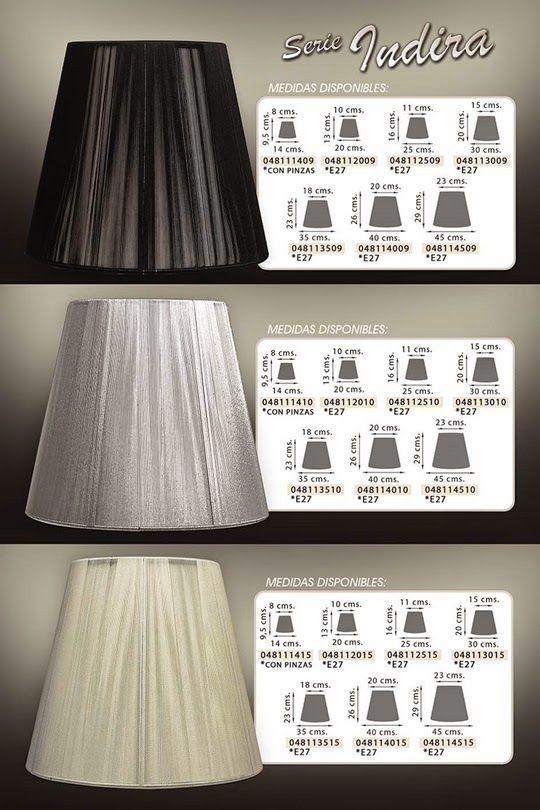 artículos para regalar - pantallas para lámparas