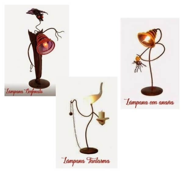 lámparas terroríficas halloween lamparas animadas Flyppy