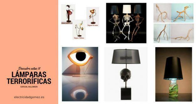 Lámparas terroríficas halloween