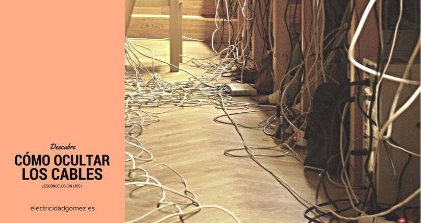Cómo ocultar los cables