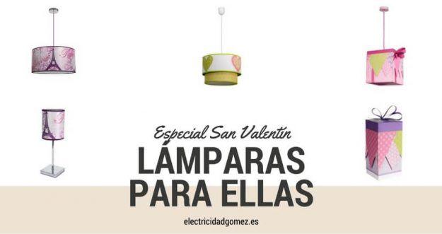 lámparas para mujeres