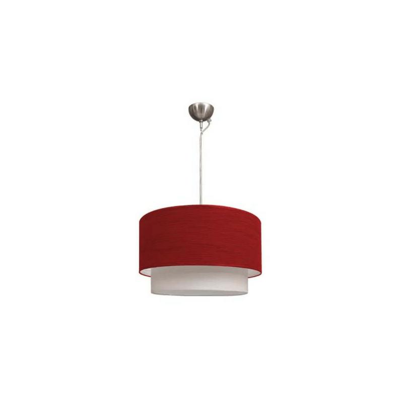 Lámpara de techo roja Serie Planetario