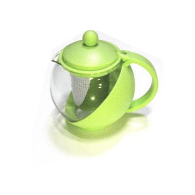 Tetera con filtro verde manzana 750ml
