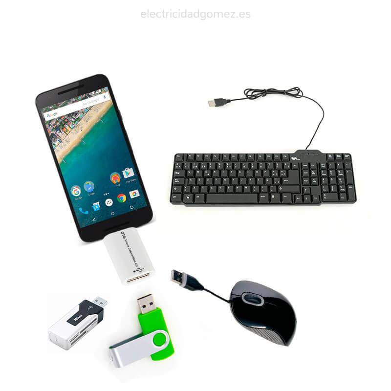 Lector de USB a OTG