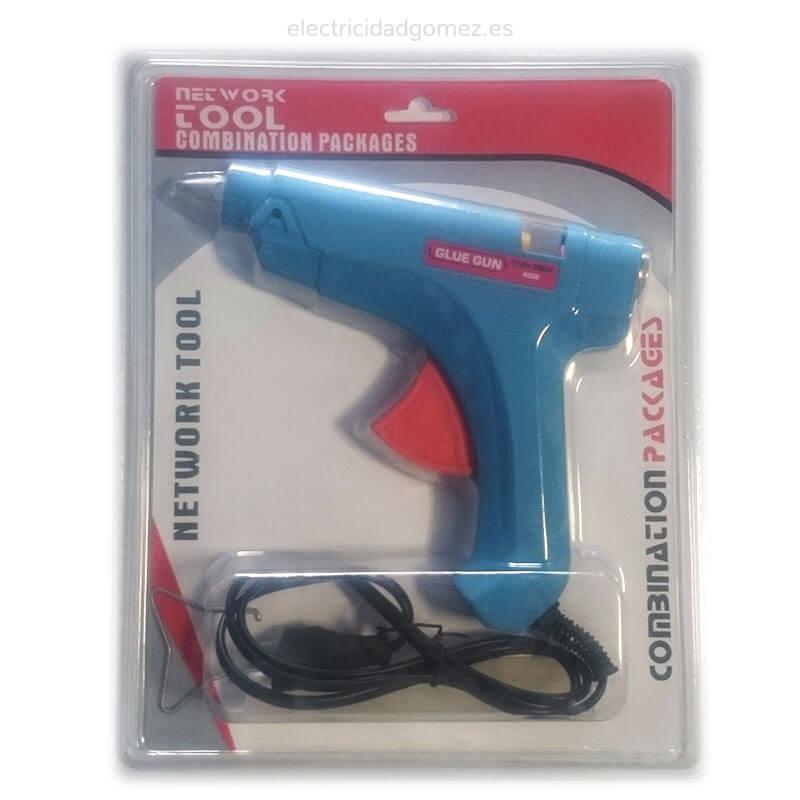 Pistola de silicona eléctrica