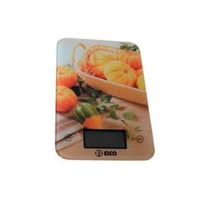 Báscula cocina digital Elco imagen calabazas
