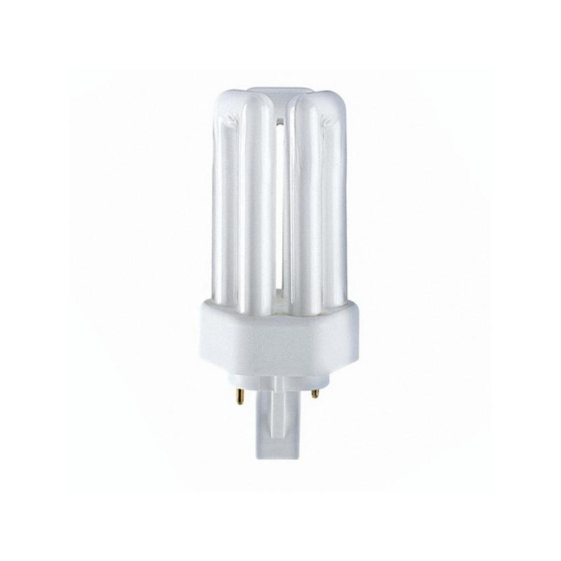 Lámpara PL 26w G24 3 tubos 2 pines