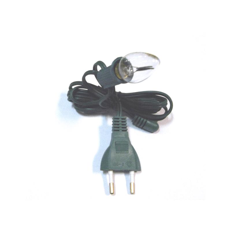 Bombilla efecto llama con cable