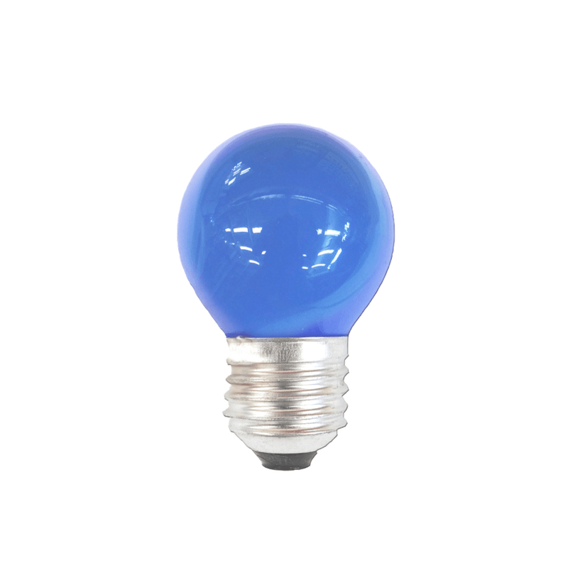 Bombilla esférica azul E27