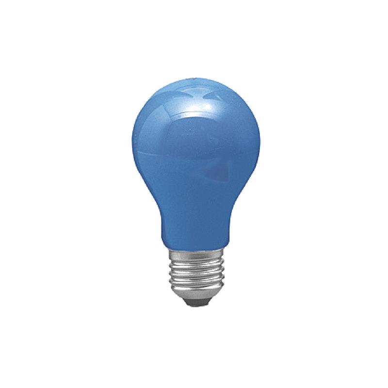 Bombilla estándar azul E27