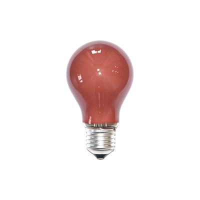 Bombilla estándar roja E27
