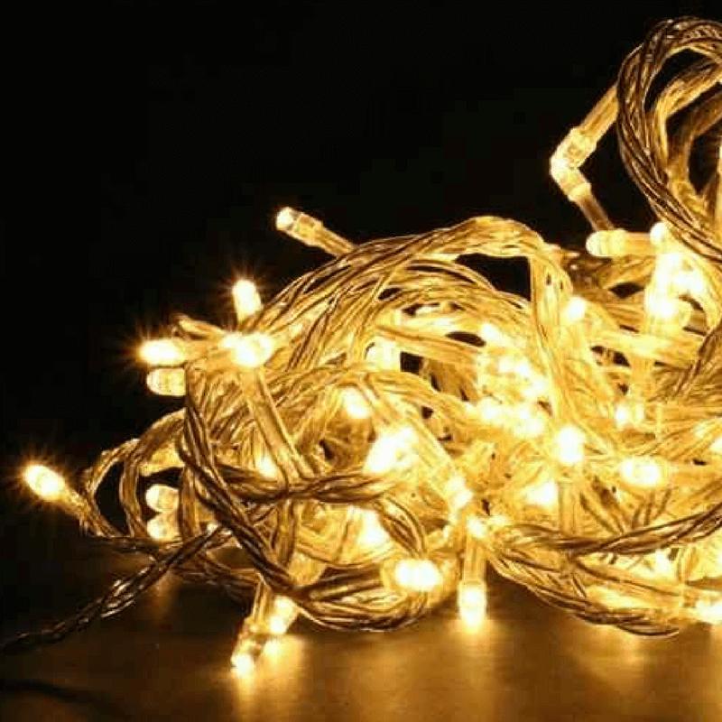 Guirnalda led 120 luces calidas