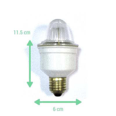 Lámpara Flash estroboscópica medidas