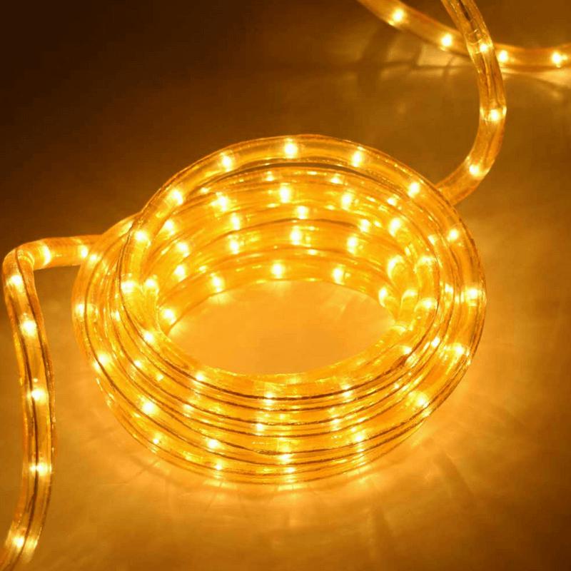 Tubo luminoso flexilight amarillo