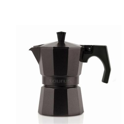 Cafetera de aluminio Taurus Elegance color morado