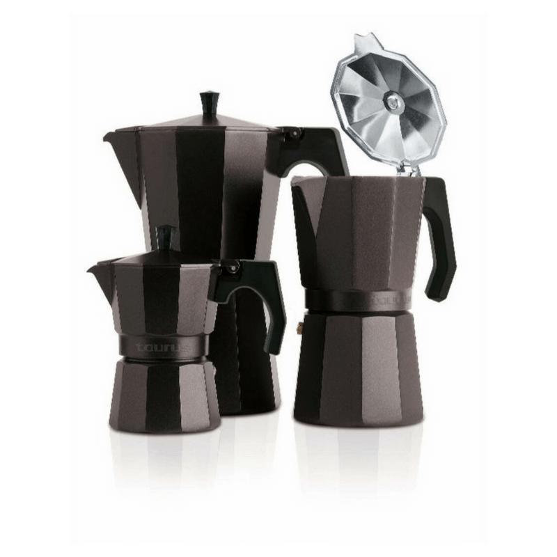 Cafetera de aluminio Taurus Elegance