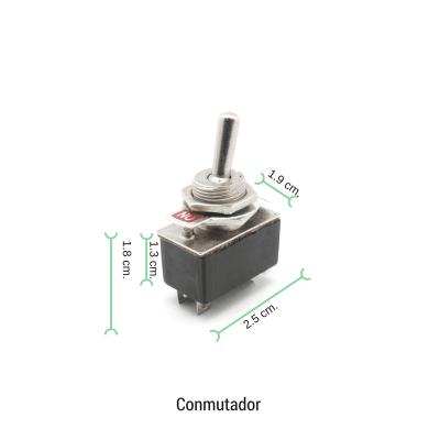 Interruptor palanca 2A