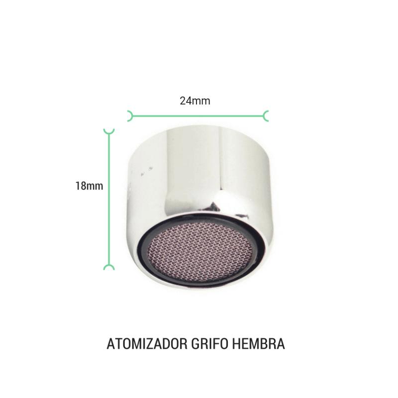 Atomizador grifo hembra 24mm