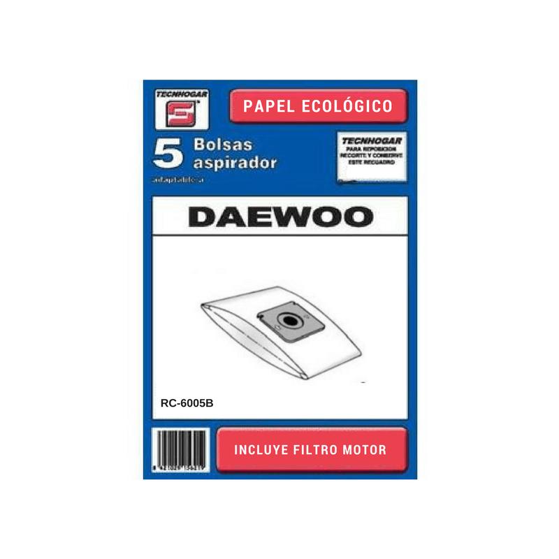 Bolsa de aspirador Daewoo 511 para modelo RC-6005B
