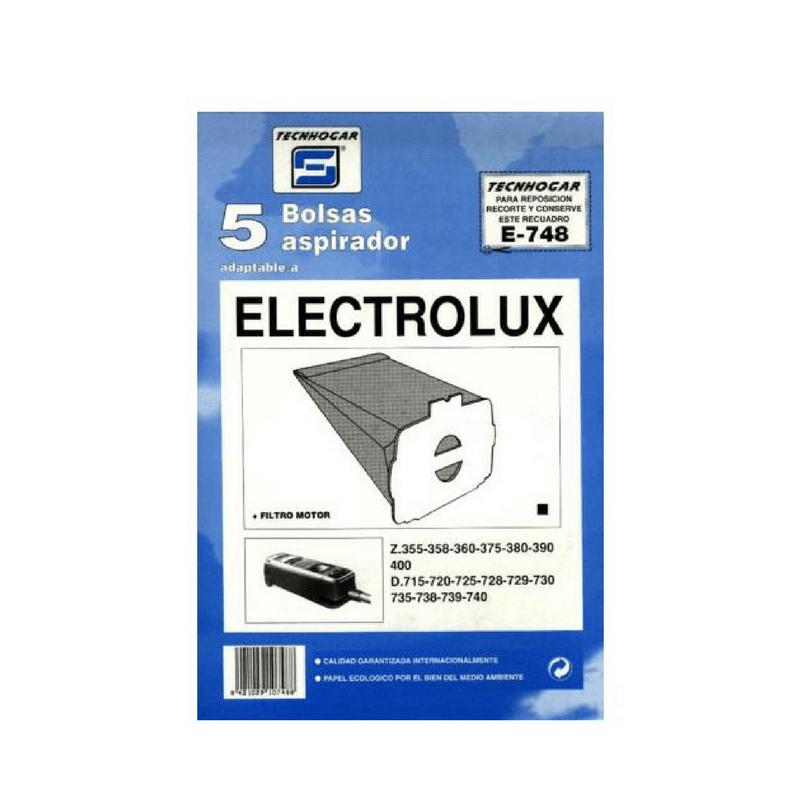 Bolsa de aspirador Electrolux 748