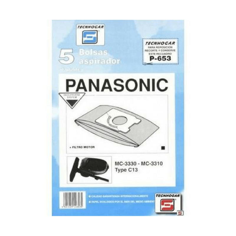 Bolsa de aspirador Panasonic 653