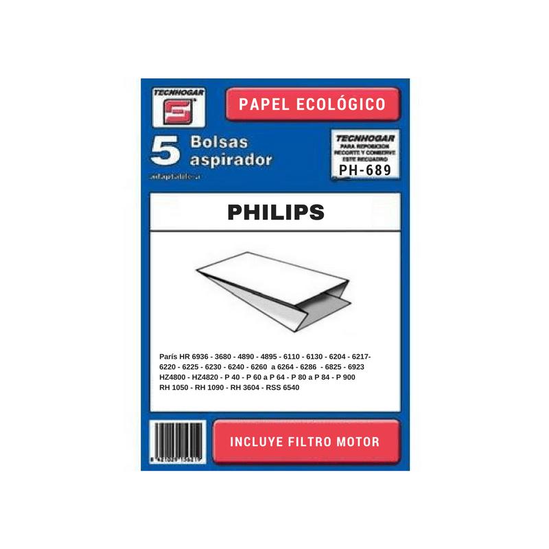 Bolsa de aspirador Philips 689