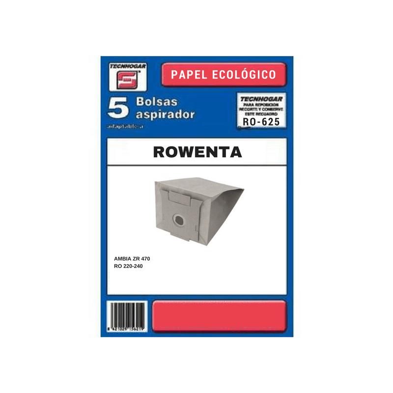 Bolsa de aspirador Rowenta 625