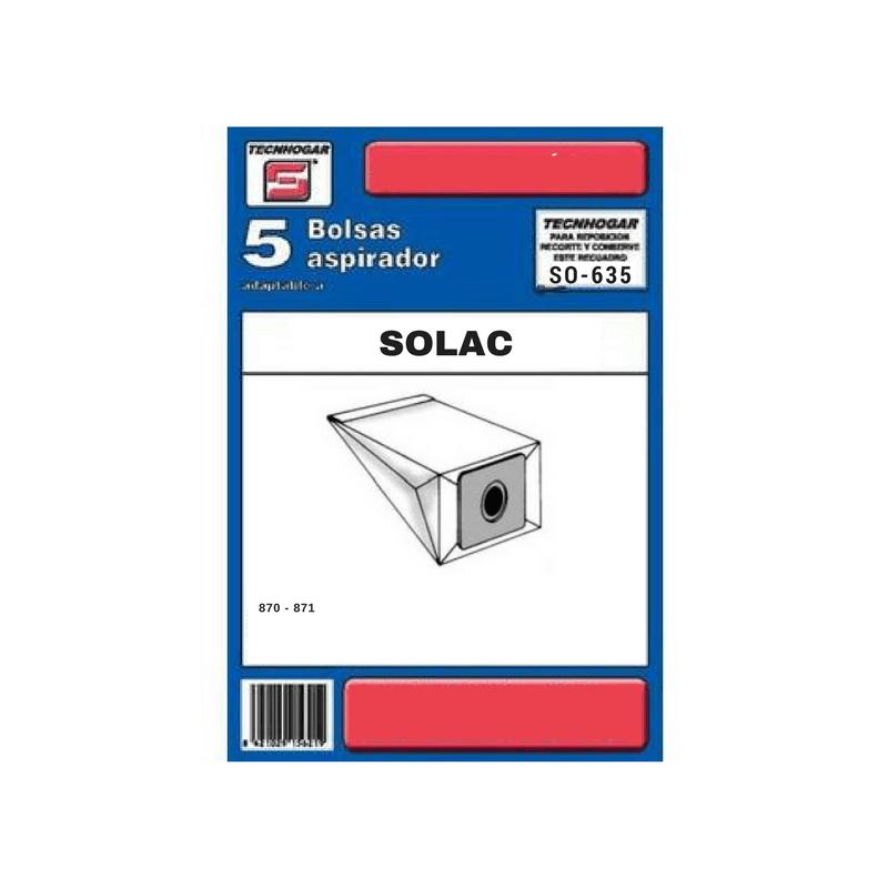 Bolsa de aspirador Solac 635