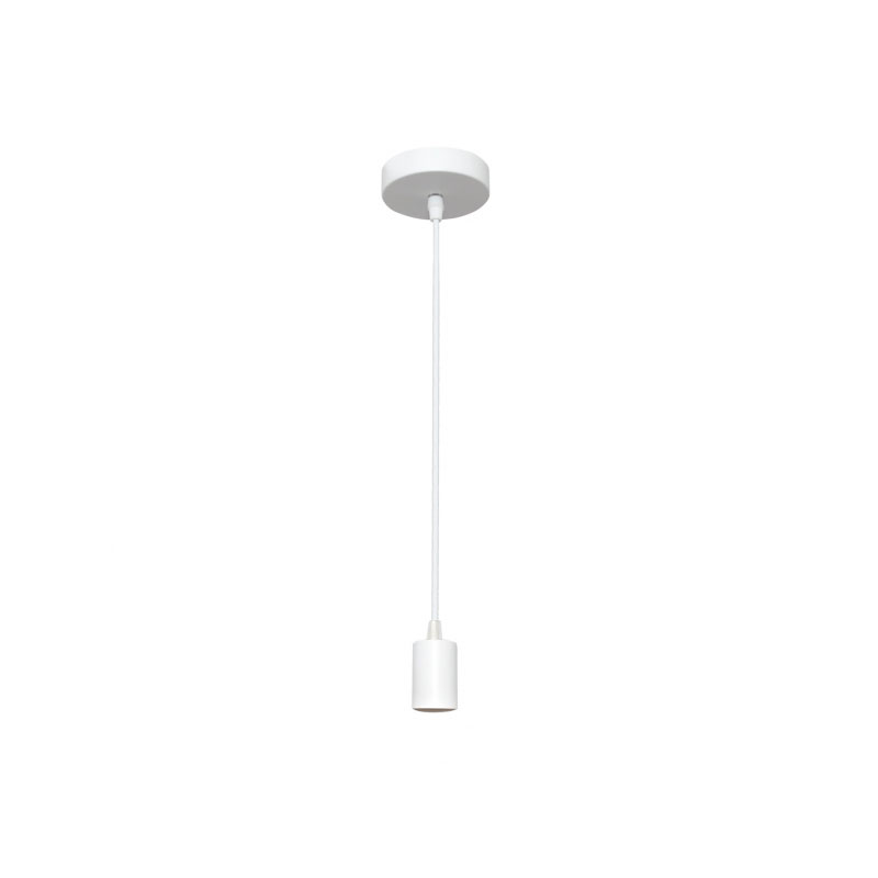 Cable de suspensión para lámpara blanco