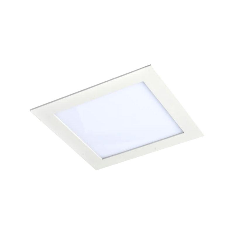 Downlight cuadrado led blanco