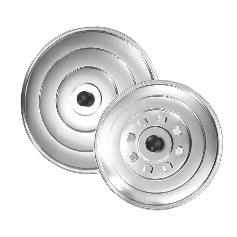 Tapa de aluminio para sartenes y ollas varias medidas