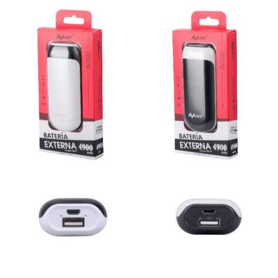 Batería externa para móvil 4900 mah