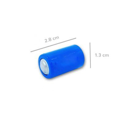 Bateria inalambrico formato 1/2 AA medidas