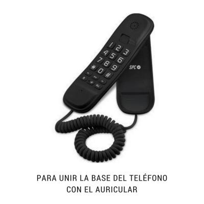 Cable de teléfono rizado