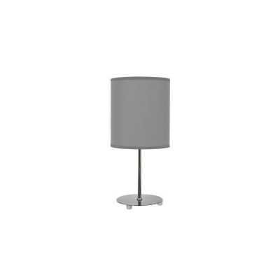 Lámpara de sobremesa Serie Nicole color gris