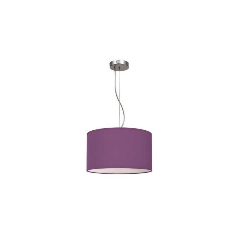Lámpara de techo Serie Nicole color morado