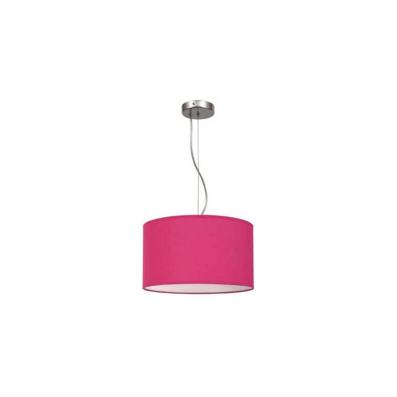 Lámpara de techo Serie Nicole color rosa