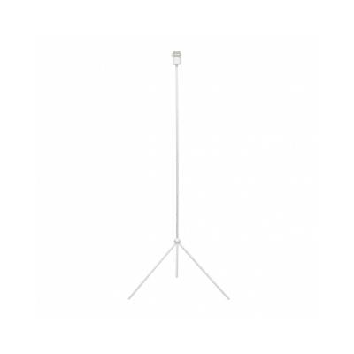 Pie de lámpara estilo trípode color blanco