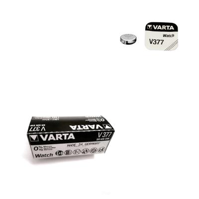 Pila de botón 377 óxido de plata