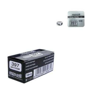 Pila de botón 397 óxido de plata