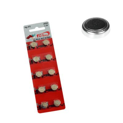 Pila botón LR54 - AG10 - 389