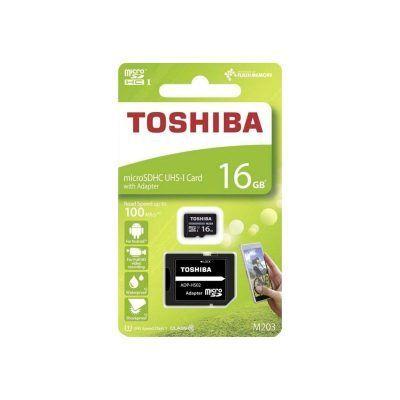 Tarjeta microSD 16 Gb Toshiba