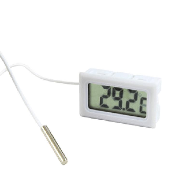 Termómetro digital con pantalla LCD para empotrar