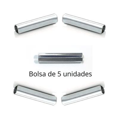 Empalme barra armario 12mm